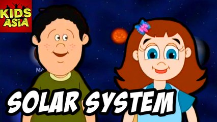 Solar System  Kids Animated Story in English | Kids Asia