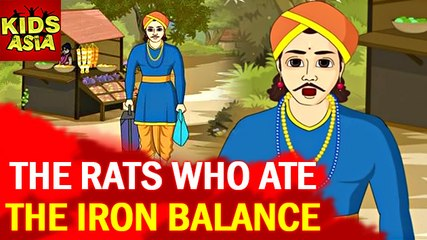 Tales Of Panchatantra | The Rats Who Ate The Iron Balance | Kids Animated Story | Kids Asia