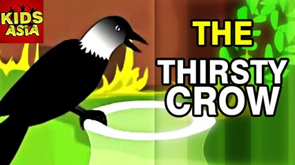 Tales Of Panchatantra   The Thirsty Crow    Kids Animated Story   Kids Asia