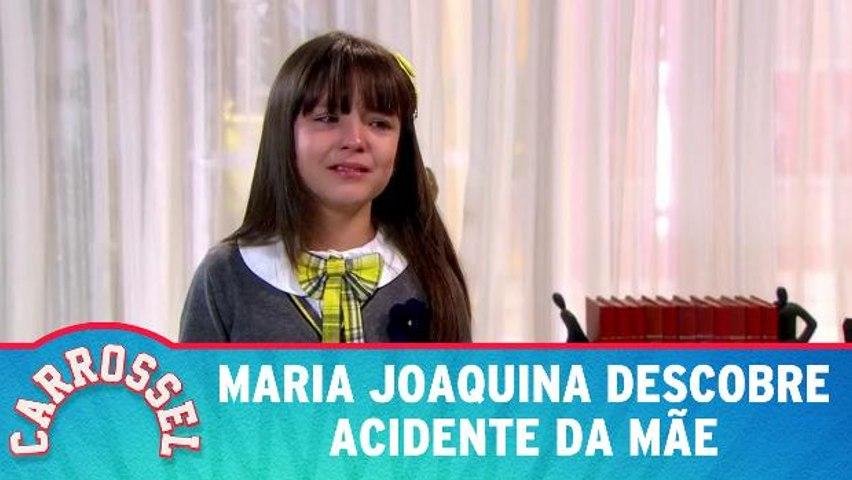 Maria Joaquina descobre acidente da mãe