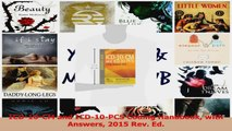 PDF Download  ICD10CM and ICD10PCS Coding Handbook with Answers 2015 Rev Ed Download Full Ebook