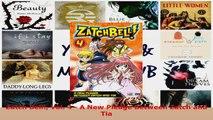 Download  Zatch Bell Vol 4  A New Pledge Between Zatch and Tia PDF Online