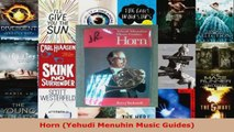 Read  Horn Yehudi Menuhin Music Guides EBooks Online