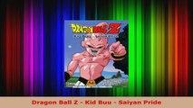 Download  Dragon Ball Z  Kid Buu  Saiyan Pride PDF Free
