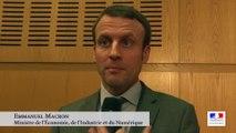 Archive - Journée du Livre d'Economie : interview d'Emmanuel Macron