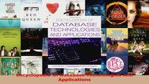 Read  Encyclopedia Of Database Technologies And Applications Ebook Online