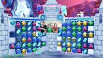 Disney Frozen Free Fall Snow Ball Fight! Someone Gets Snow Pied by HobbyKidsTV