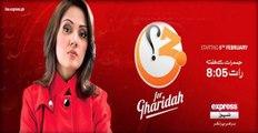 Gharida Farooqi SEXY Pakistani news anchor in white leggings