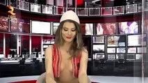 Découvrez Greta, la nouvelle présentatrice au décolleté plongeant du JT albanais