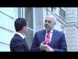 Rama vizitë zyrtare në Francë pritet nga homologu Manuel Valls