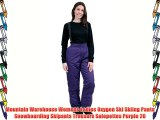 Mountain Warehouse Womens Ladies Oxygen Ski Skiing Pants Snowboarding Skipants Trousers Salopettes