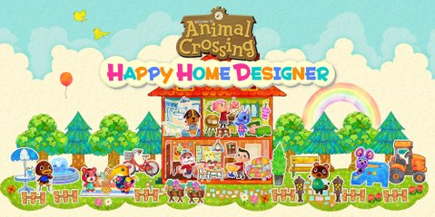 Animal Crossing : Happy Home Designer | Trailer Gameplay HD 1080p 30fps - E3 2015
