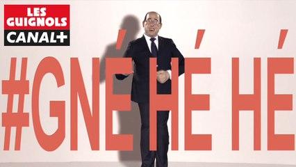 """""""Gné Hé Hé"""" : """"Blurred Lines"""" par François Hollande - Les Guignols - CANAL+"""