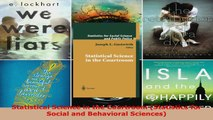 Read  Statistical Science in the Courtroom Statistics for Social and Behavioral Sciences Ebook Free