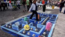 Amazing 3D Street Art Illusions Compilation 2014 [HD]