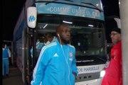 Rennes-OM : l'arrivée du bus de l'OM