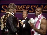 WWF SummerSlam 1989 - Ted Dibiase Interview