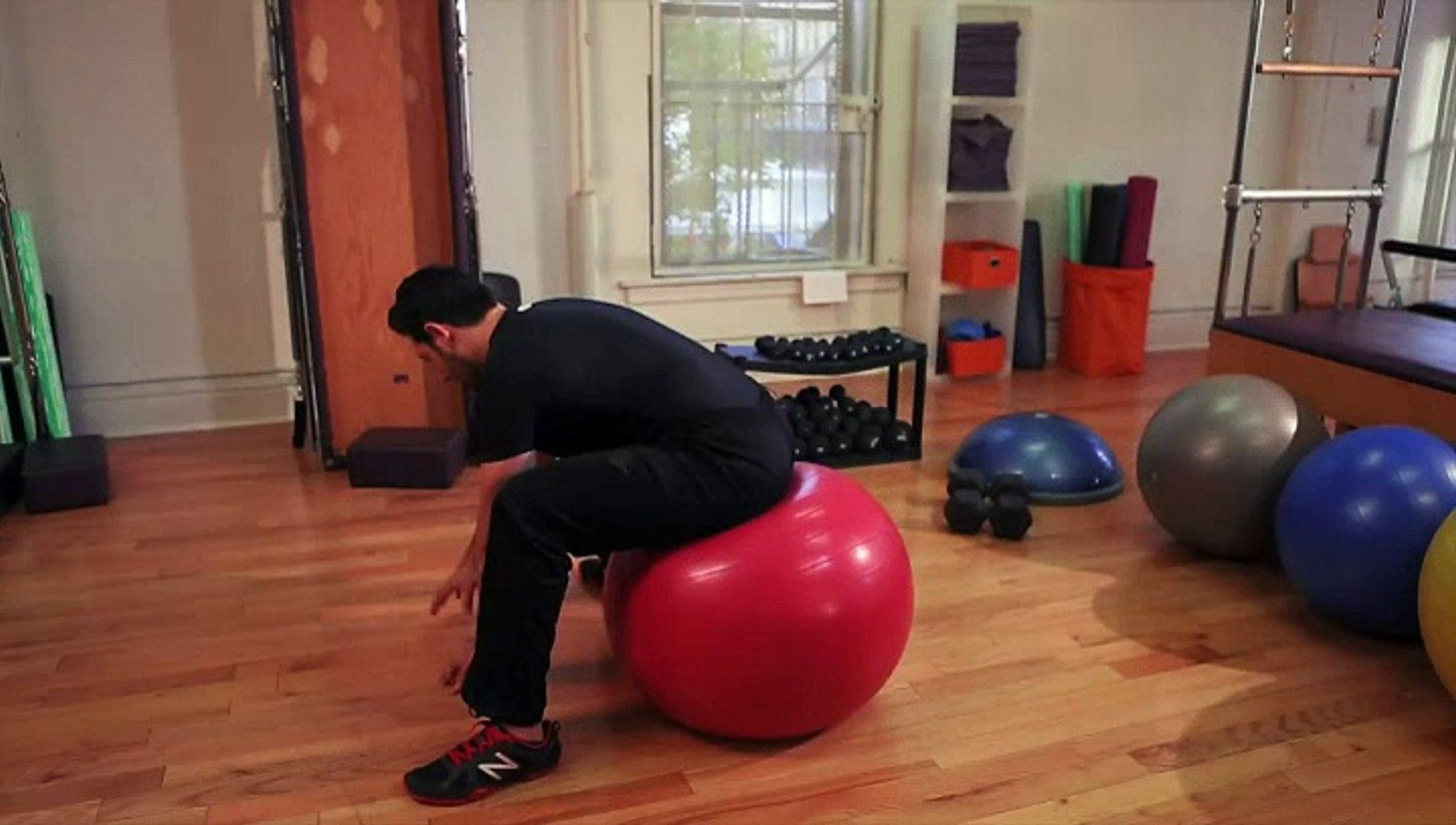 How to Improve Your Hip Flexibility Using a Big Ball