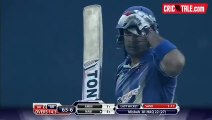 Mohammad sami Takes wicket of Mohammad Nabi of Afghanistan in BPL 2015