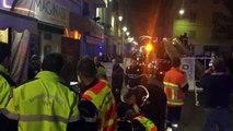 Incendie rue Micholet à Toulon