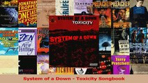 Download  System of a Down  Toxicity Songbook Ebook Online