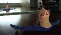 how to do a straddle split  video dailymotion
