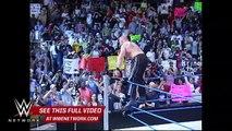 WWE Network: Brock Lesnar rides Steve Austin's ATV like he stole it: SmackDown, March 4, 2004