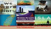 Download  Modern Realism According to Fritz The Oil Paintings of Fritz VonderHeiden EBooks Online