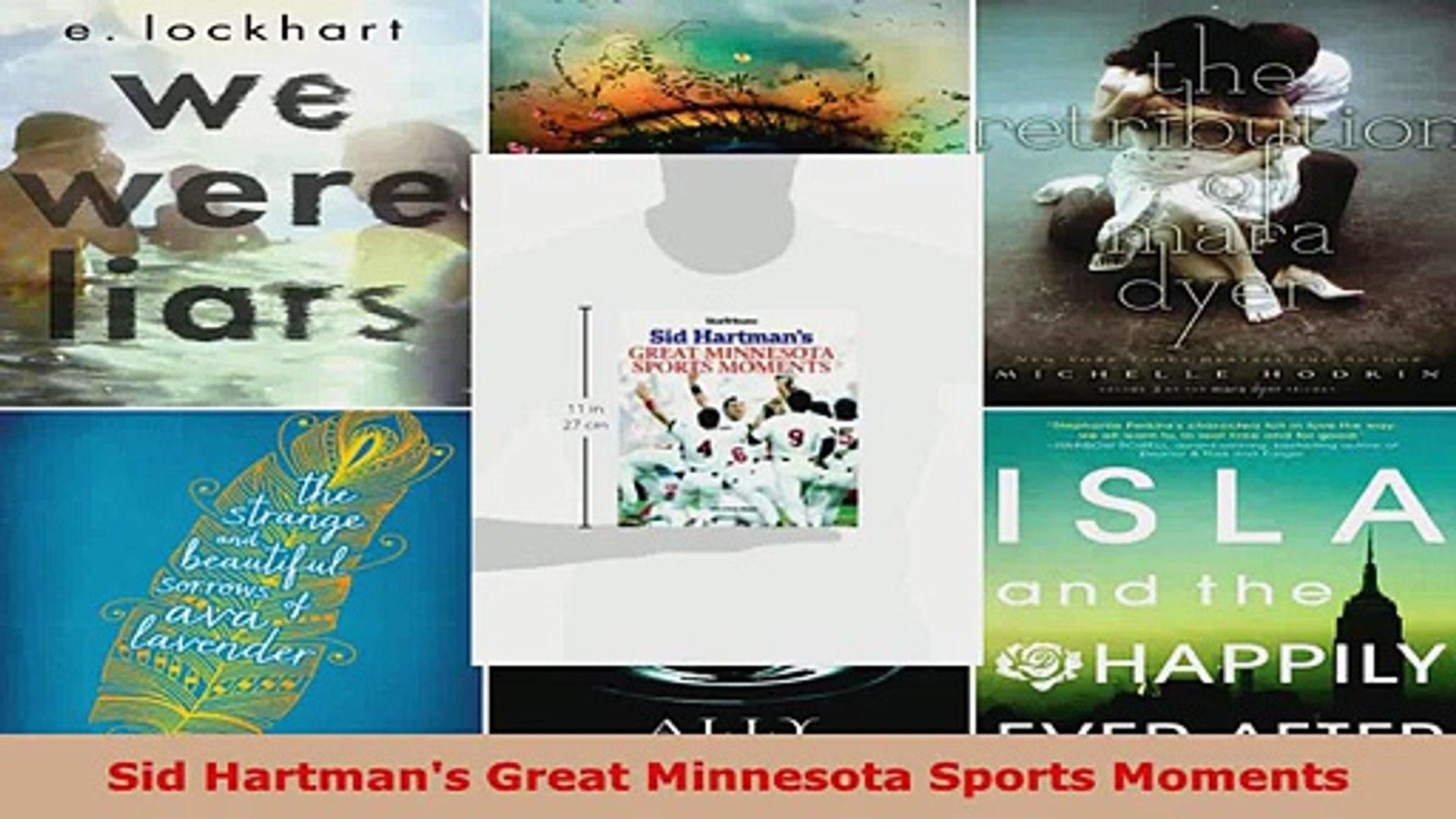 Read  Sid Hartmans Great Minnesota Sports Moments Ebook Free