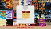 Read  24 Gothic Display Fonts CDROM and Book Dover Electronic Clip Art Ebook Free
