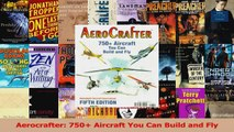 PDF Download  Aerocrafter 750 Aircraft You Can Build and Fly Read Full Ebook