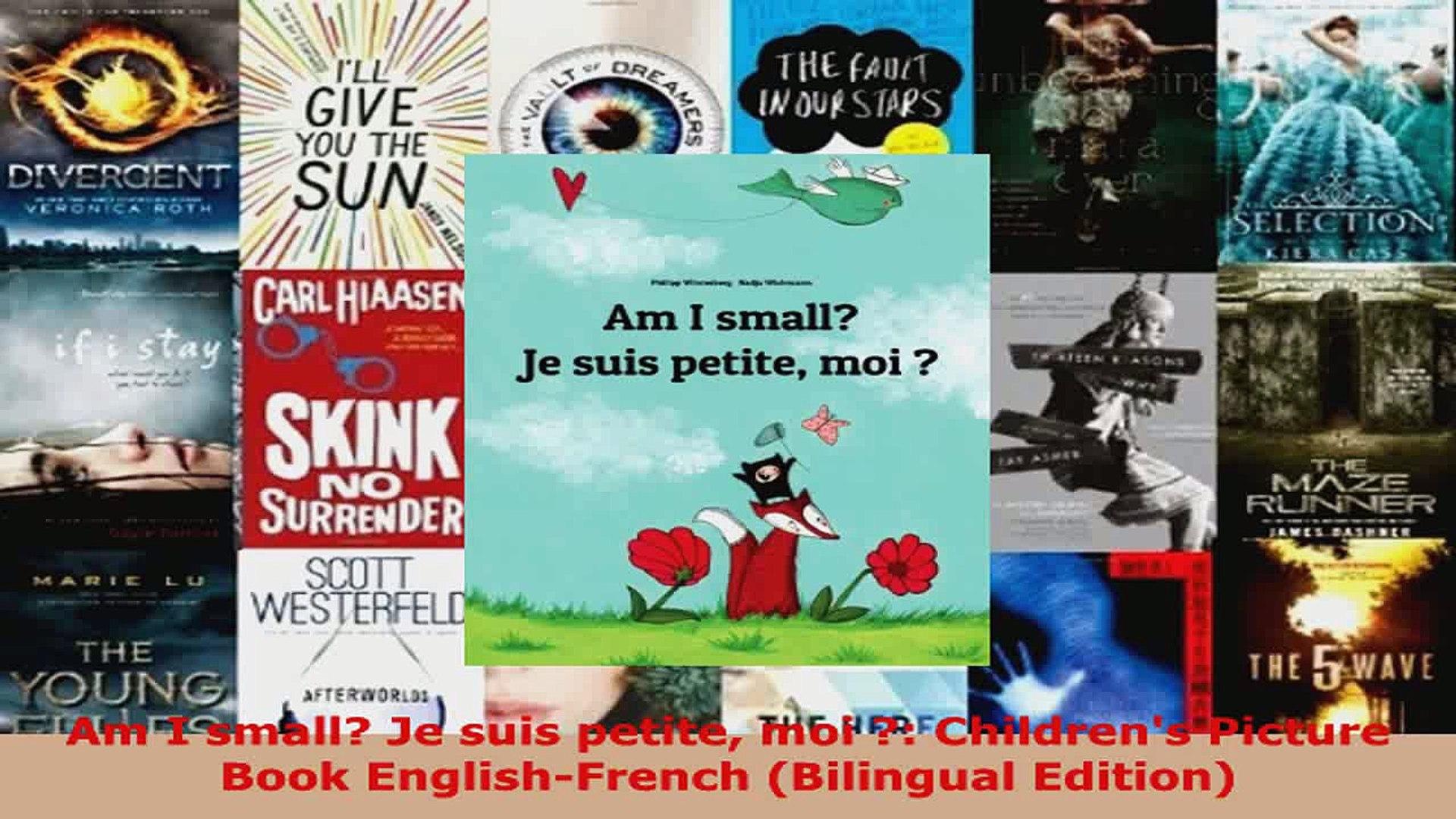 /Är jag liten? Bilingual Edition Childrens Picture Book English-Swedish Am I small