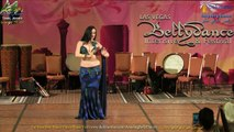 Shahrzad Raqs The Art Of Arabic Belly Dance - Amazing Improvisation To Shakira Music Drum Solo At LVDBIF