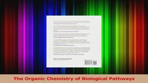The Organic Chemistry of Biological Pathways Download