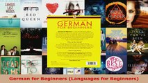 Download  German for Beginners Languages for Beginners PDF Free