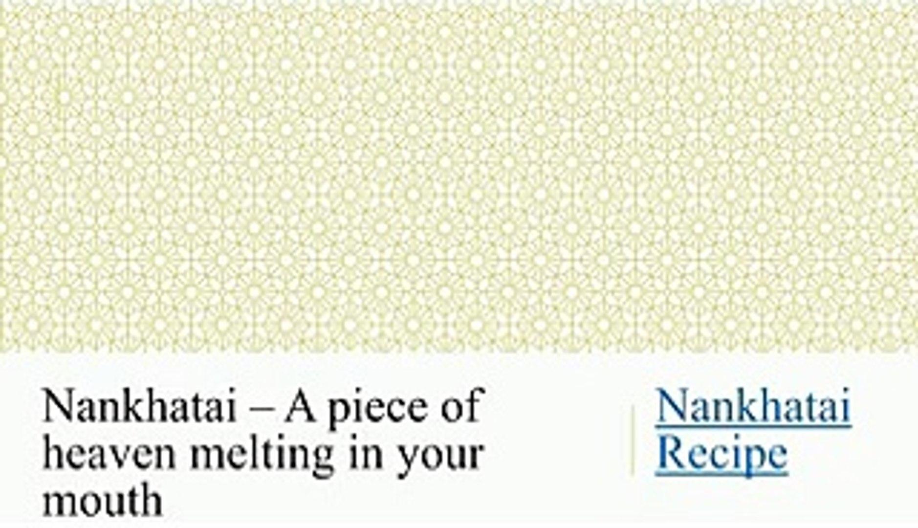 Nankhatai Recipe, Eggless Cookies Recipe - BetterButter