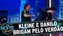Marcos Kleine e Danilo brigam em prol do Palmeiras