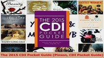 PDF Download  The 2015 CDI Pocket Guide Pinson CDI Pocket Guide Read Online