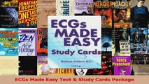 PDF Download  ECGs Made Easy Text  Study Cards Package Download Full Ebook