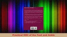 Download  Practical MRI of the Foot and Ankle Ebook Free