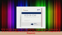 PDF Download  ICD9CM Expert for Hospitals and Payers Volumes 1 2  3 2014 Spiral ICD9CM Expert Download Full Ebook