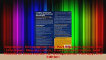 PDF Download  Cognition Occupation and Participation Across the Life Span Neuroscience Read Online