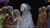 Nasheed Ya Tayba (يا طيبة ) Featuring A Stunning Voice Of An Angel Iman Farrar - Multicultural Mega Mawlid 2011 Sydney Australia Muslim Kid's Club (Islamic Song Islam Itu Indah Channel) सुंदर नशीद - خوبصورت نشید