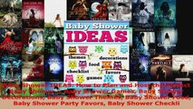 Read  Baby Shower IDEAS How to Plan and Host the Perfect Baby Shower  Baby Shower Games Baby EBooks Online