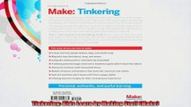 Tinkering Kids Learn by Making Stuff Make