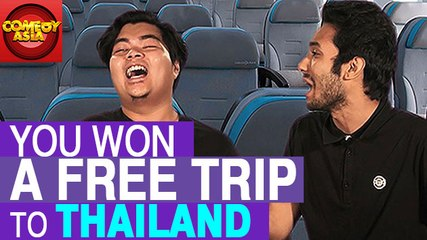 You Won A Free Trip To Thailand | Comedy Asia