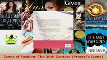 Download  Icons of Fashion The 20th Century Prestels Icons Ebook Free