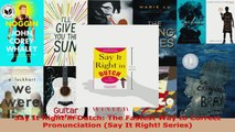 Read  Say It Right in Dutch The Fastest Way to Correct Pronunciation Say It Right Series PDF Free