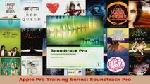 Download  Apple Pro Training Series Soundtrack Pro Ebook Free