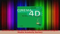 PDF Download  CINEMA 4D  The Artists Project Sourcebook Digital Media Academy Series PDF Full Ebook